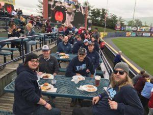 TAB Industries at baseball game