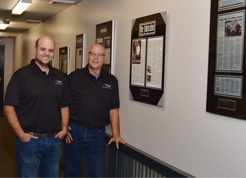TAB Industries Andy Brizek, Tom Brizek