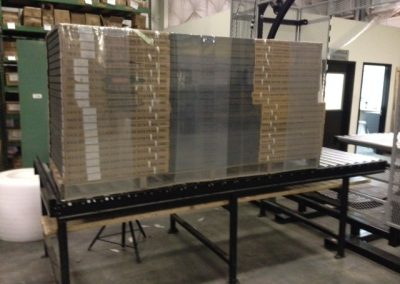 1 Ton Pallet of Wrapped Steel Doors