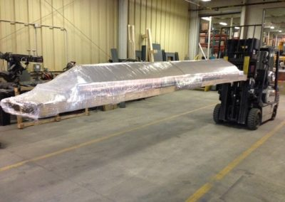 16 Foot Wrapped Pallet