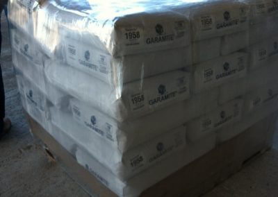 Pallet of Wrapped Bags