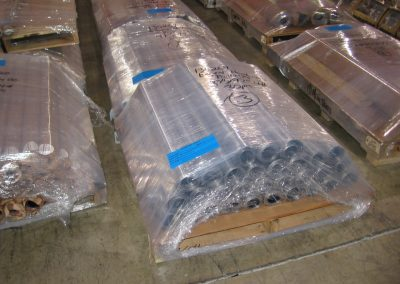 Wrapped Rolls of Lead