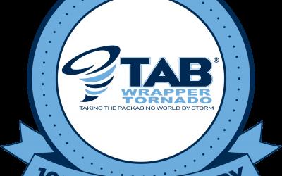 Tab Industries Celebrates 10th Anniversary Of Tab Wrapper Tornado